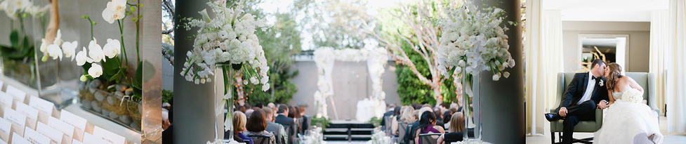 Luxe Hotel Sunset Wedding Event